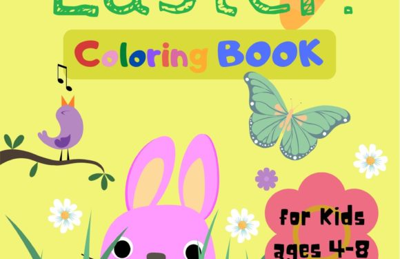Happy Easter!  Coloring Book by Lia Manea