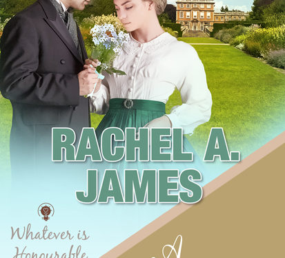 A Field of Forget-me-nots by Rachel A. James
