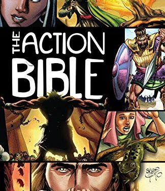 The Action Bible by David C. Cook & Sergio Cariello (illustrator)