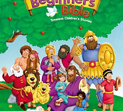 The Beginner's Bible by Zonderkidz, illustrated by Kelly Pulley