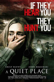 A Quiet Place starring Millicent Simmonds, Emily Blunt, & John Krasinski