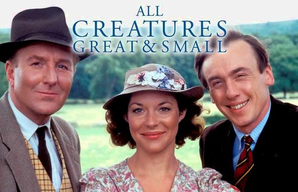 All Creatures Great & Small starring Christopher Timothy, Robert Hardy, & Carol Drinkwater