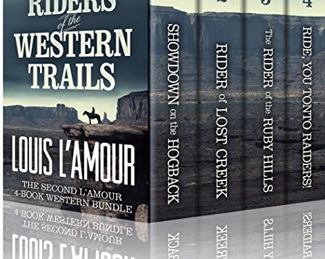Riders of the Western Trails by Louis L'Amour