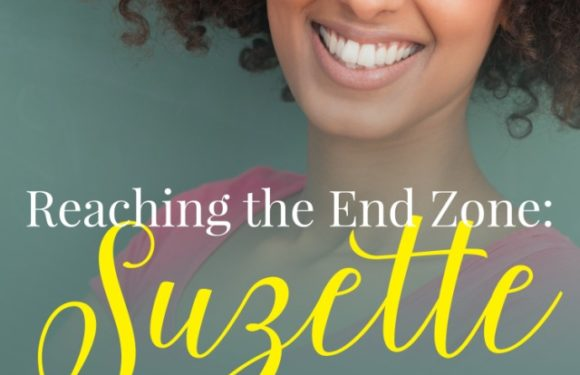 Reaching the End Zone: Suzette by Barbara James