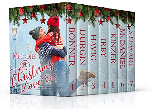 Melodies of Christmas Love: A Boxed Set Collection of Contemporary Christian Christmas Romance Novellas by Lynnette Bonner and More