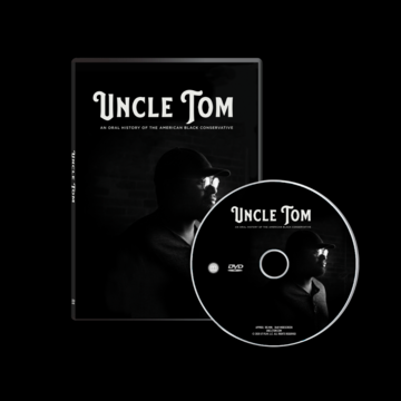 Uncle Tom with Director Justin Malone and Executive Producer Larry Elder