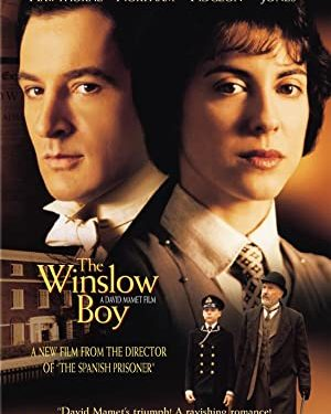The Winslow Boy Starring 	Nigel Hawthorne, Gemma Jones, Jeremy Northam