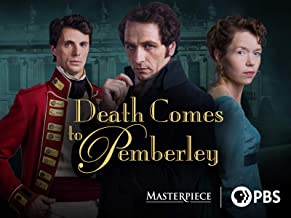 Death Comes to Pemberley Starring Anna Maxwell Martin, Eleanor Tomlinson, & James Fleet