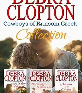Cowboys of Ransom Creek Collection, Clean Western Romance, by Debra Clopton