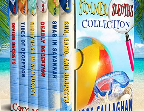 Summer Sleuths Collection, Christian Cozy Mysteries by Hope Callaghan