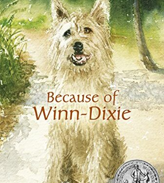 Because of Winn-Dixie, Clean Childrens, by Kate DiCamillo