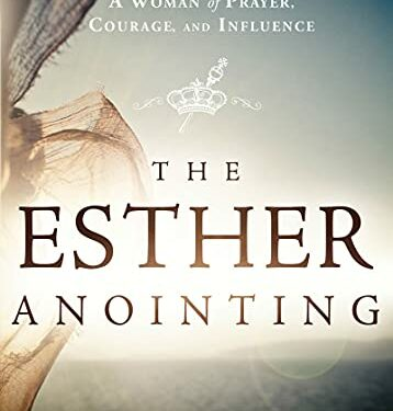 The Esther Anointing, Nonfiction Devotional, by Michelle McClain