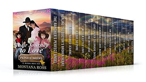 Their Journey to Love, Clean Western Romance, by Montana Ross
