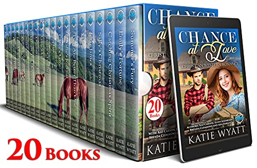 Chance At Love, Christian Western Romance 20 Books, by Katie Wyatt and more