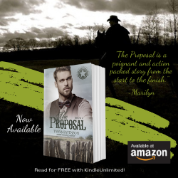The Proposal, Christian Western Romance, by Tanya Eavenson