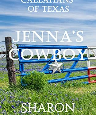 Jenna's Cowboy, Christian Western Romance, by Sharon Gillenwater