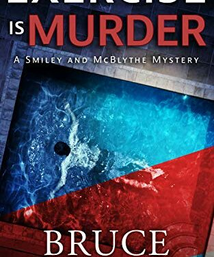 Exercise Is Murder, Clean Cozy Mystery, by Bruce Hammack
