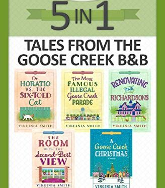 Tales from the Goose Creek B&B 5-in-1, Christian Contemporary Romance, by Virginia Smith
